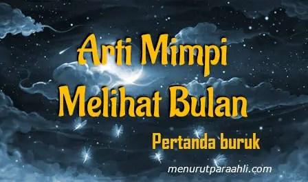 Makna Bermimpi untuk Melihat Bulan untuk Tanda Buruk