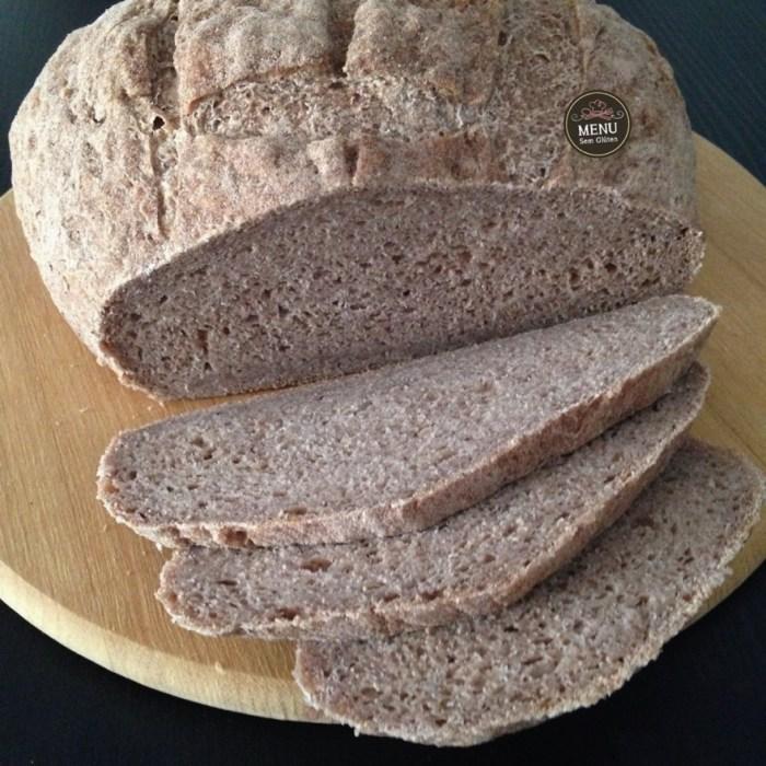 Pão de Teff sem glúten e vegano