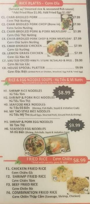 Pho Big Bowl- Menu- Watauga - Menutex