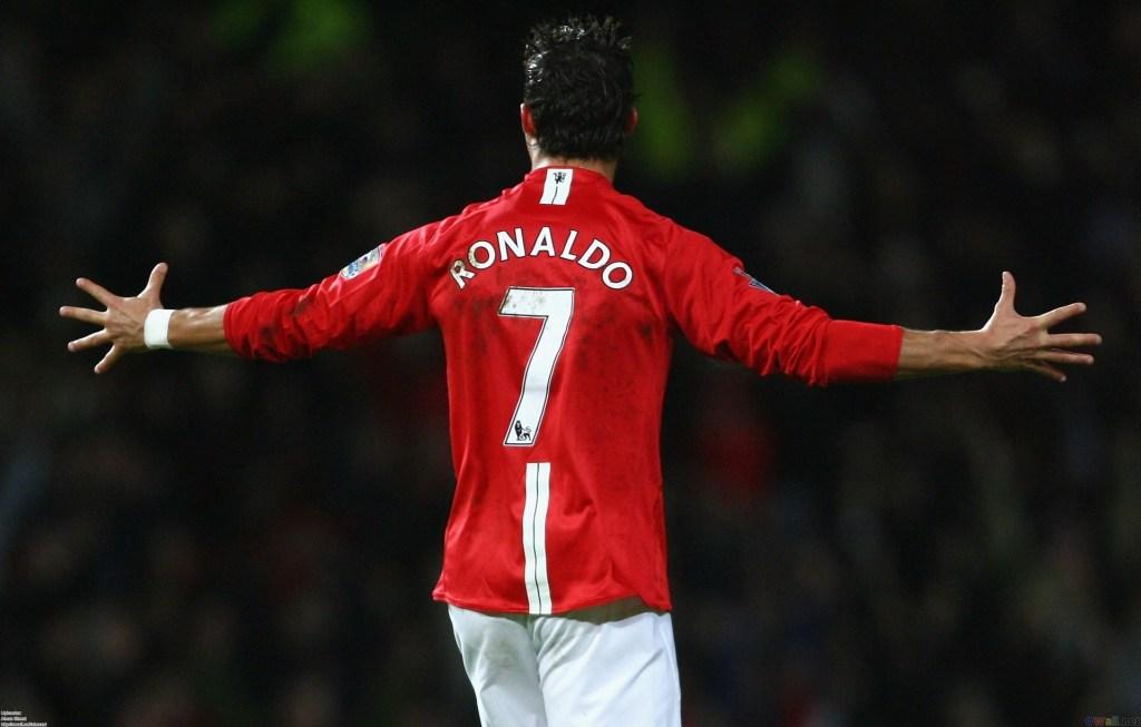 Cristiano mu ikipe ya Manchester United