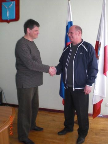 Кузьмин И.Г. и Менякин И.Ю. договорились о сотрудничестве