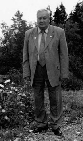 Алексей Сергеевич Уранов в Шахматове 2003 г.