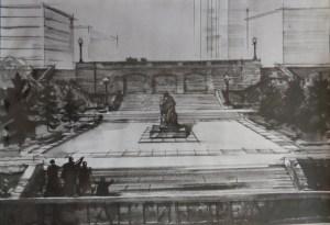 Памятник-Федину-Саратов-5-рисунок-Менякина