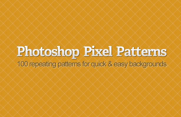 Photoshop Pixel Patterns