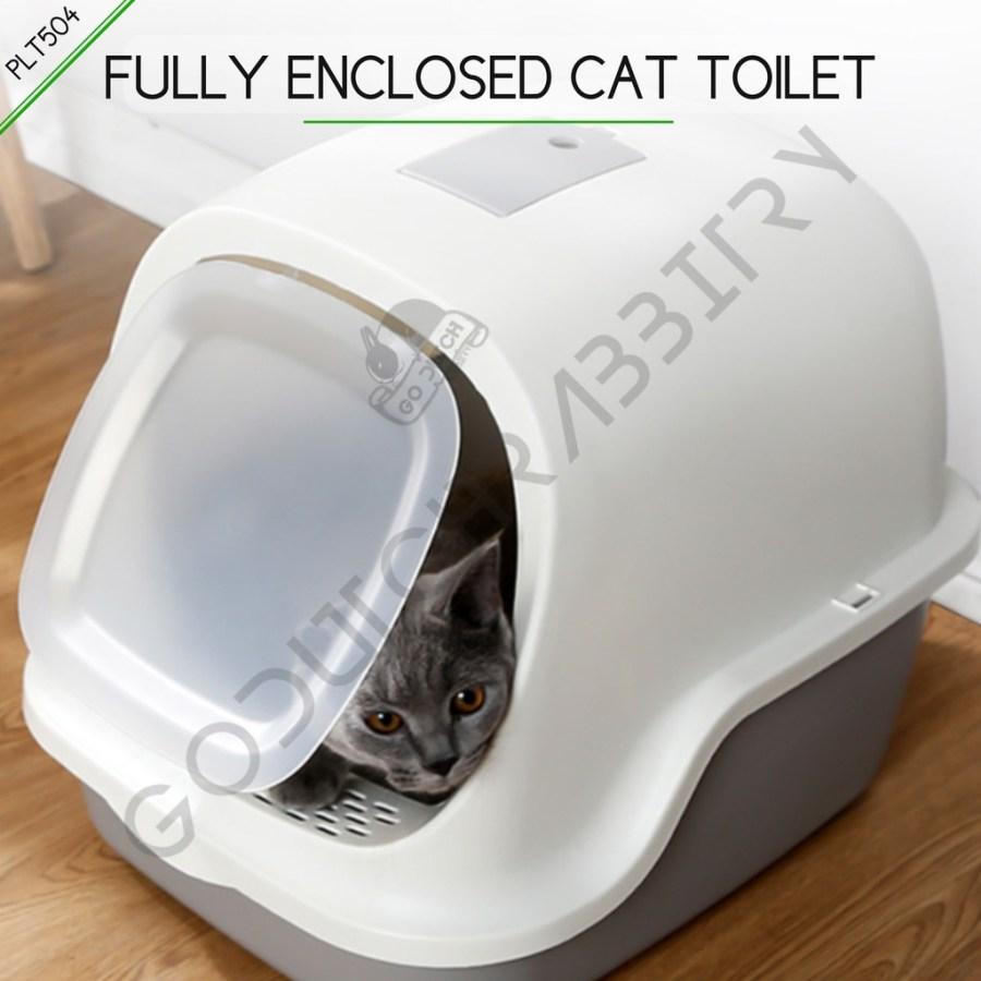Toilet kotoran kucing