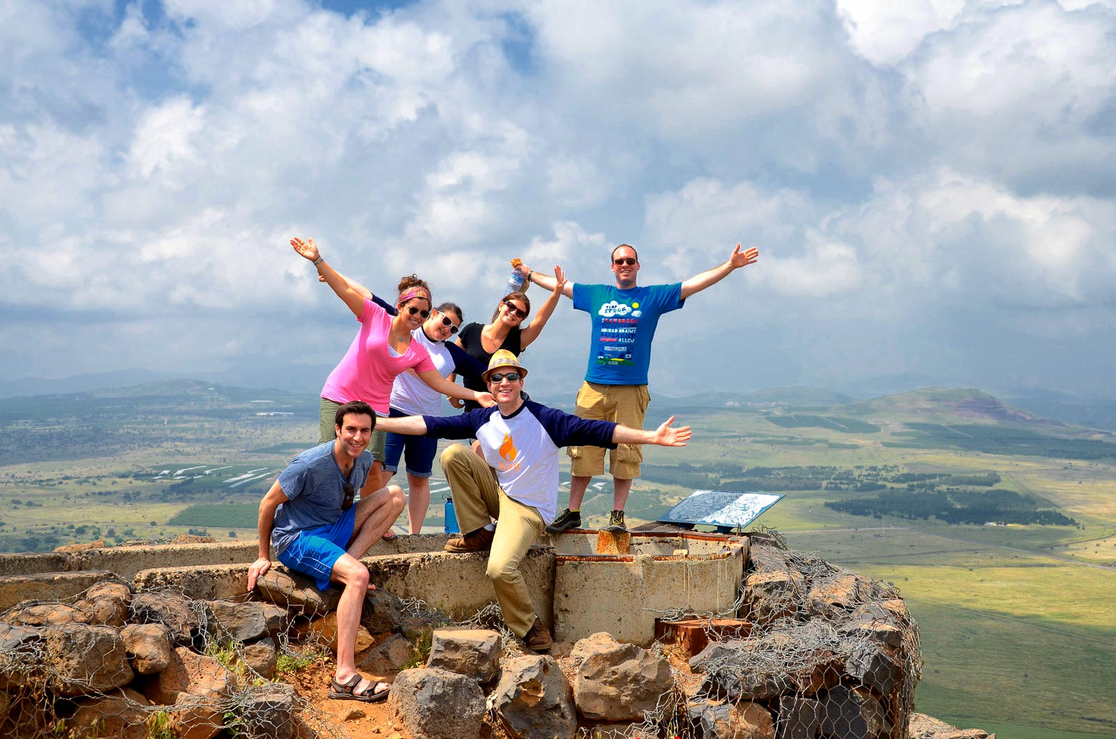 MEOR Israel trip participants from University of Maryland