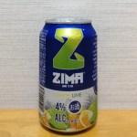 ZIMA(ジーマ)レモンライムのカロリーと飲み比べ