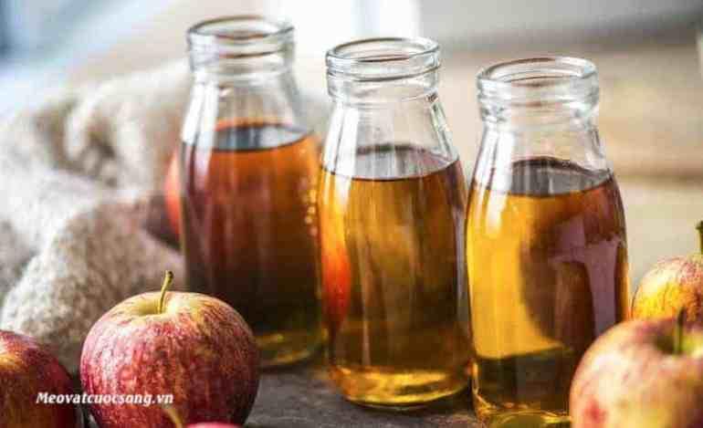 Giấm táo trị mề đay hiệu quả
