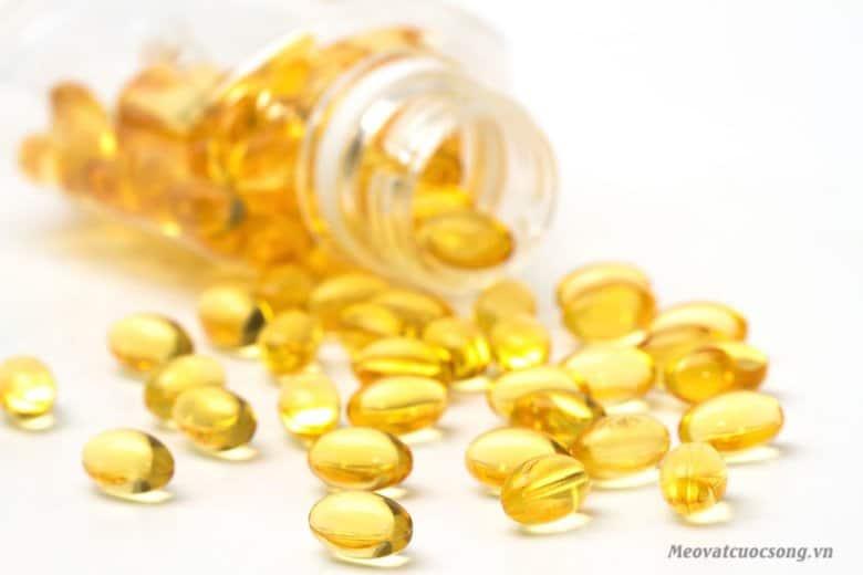 Vitamin E giúp trị rám nắng