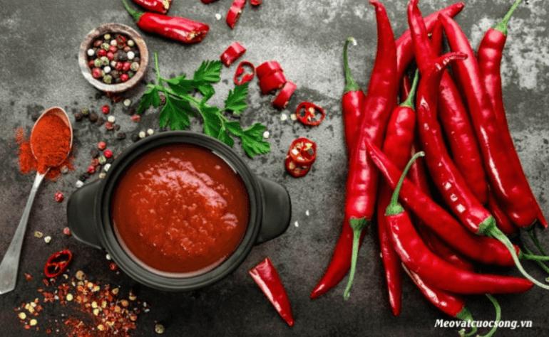 Bị tiêu chảy tránh ăn ớt