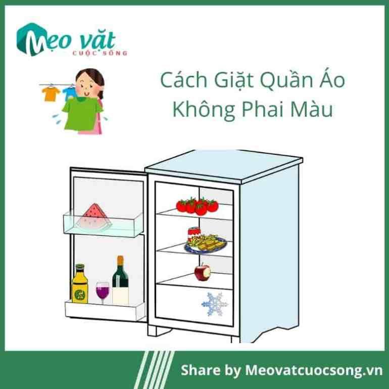 Để quần áo vào ngăn đá tủ lạnh