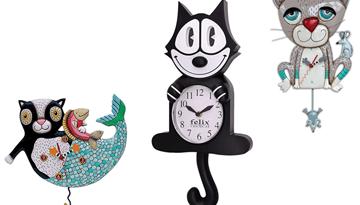 cat clocks feature