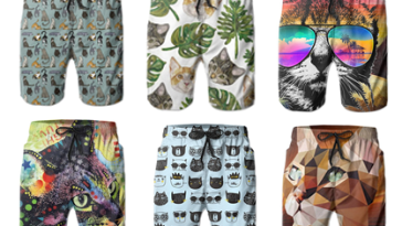 kitty board shorts cat dads feature