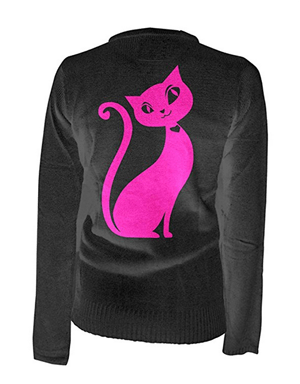cat cardigan women