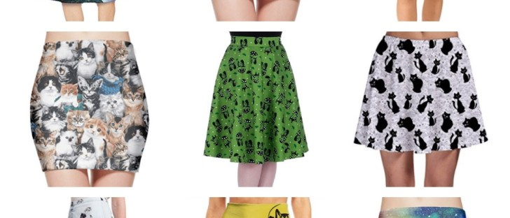 cat skirts feature