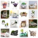 cat planters plant pots feature