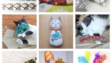 handmade cat kickers feature