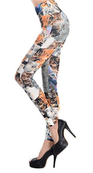 womens cat leggings
