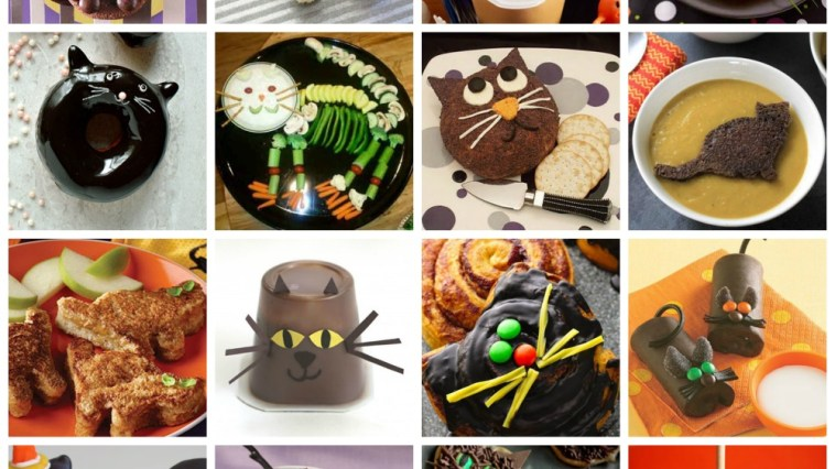 halloween cat snacks treats feature
