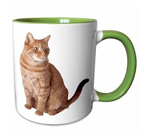 mugs ginger orange cats