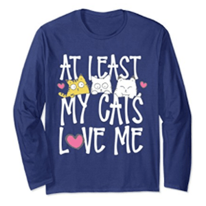 valentines day tshirt women cats
