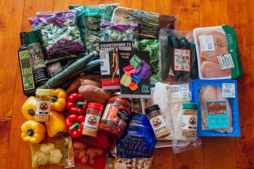 groceries before prep