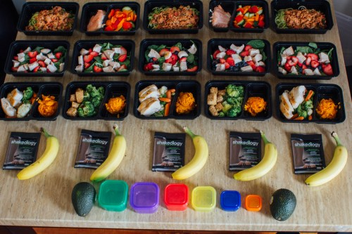 5 days of Meal Prep