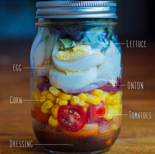 egg salad jar