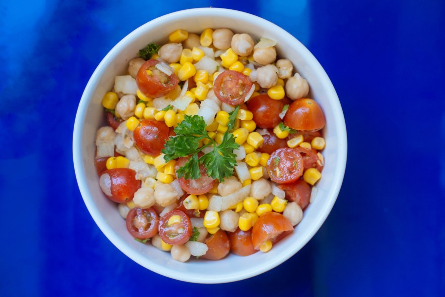 chickpea-corn-salad