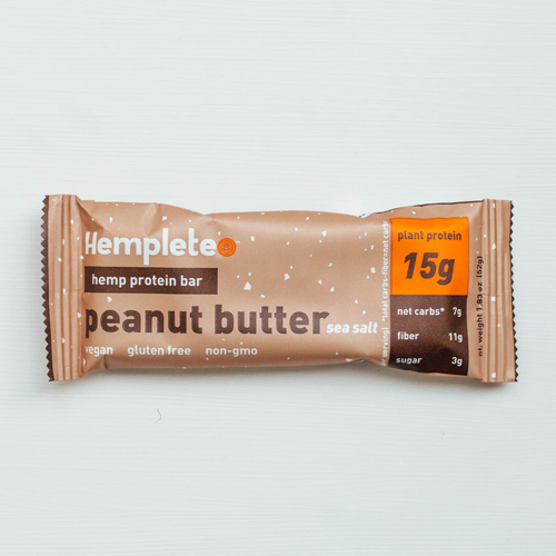 Healthy snack ideas - Hemplete bar
