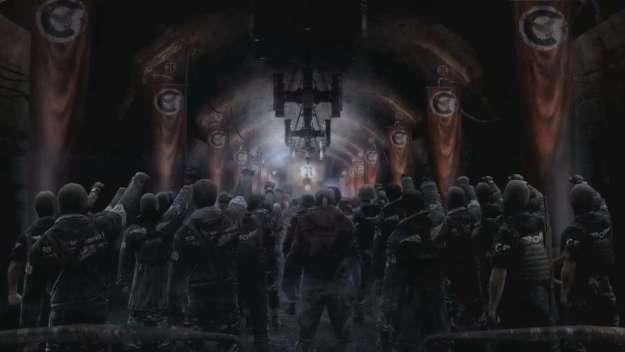 """Рейх - довольно опасная группировка, которая """"прославилась"""" на все Метро. К сожалению, фашисты - не самая большая угроза среди человеческого населения."""