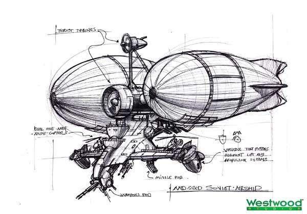 """Изначально дирижабль """"Киров"""" имел совсем другой дизайн, опирался на два баллона с гелием, а гондола была больше похожа на фюзеляж вертолёта Ми-24."""