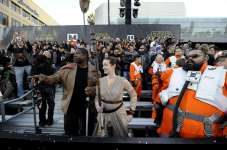 """Fans attend the premiere of """"Star Wars: The Force Awakens"""" in Hollywood"""