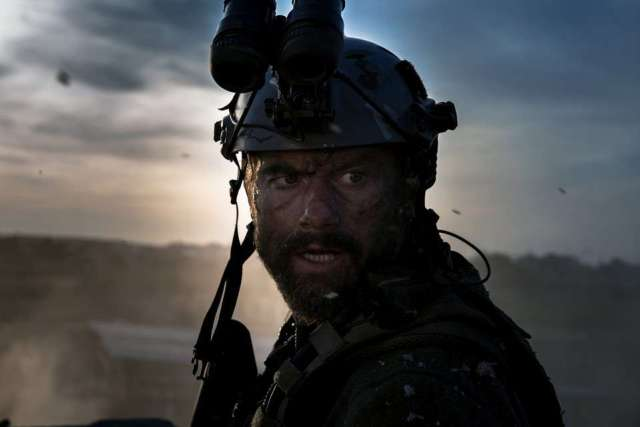 """James Badge Dale plays Tyrone """"Rone"""" Woods in 13 Hours: The Secret Soldiers of Benghazi from Paramount Pictures and 3 Arts Entertainment / Bay Films in theatres January 15, 2016."""