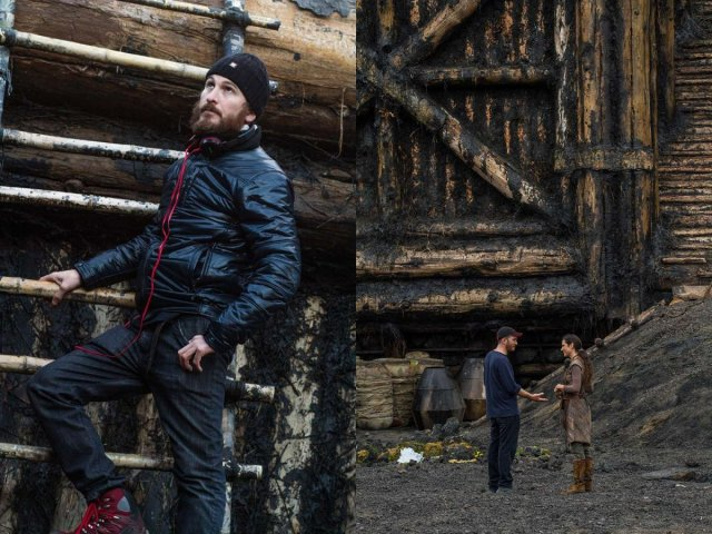 Darren Aronofsky on the set of NOAH, from Paramount Pictures and Regency Enterprises. N-54679
