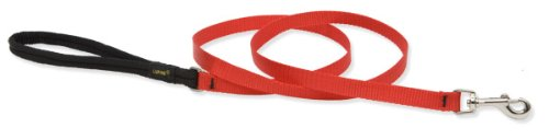 Premium Leash with Padded Handle - Red