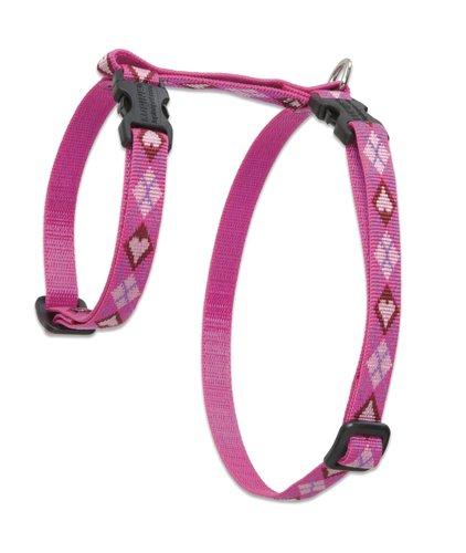 "Premium H-Style Harness - Puppy Love, 12-20"" Girth"