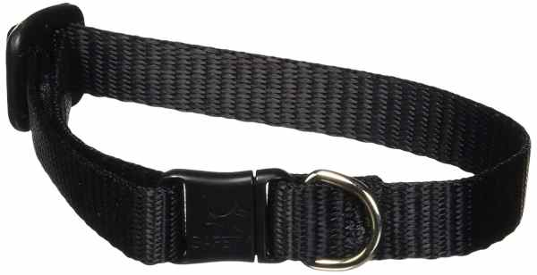 Premium Safety Collar - Black, 8-12""