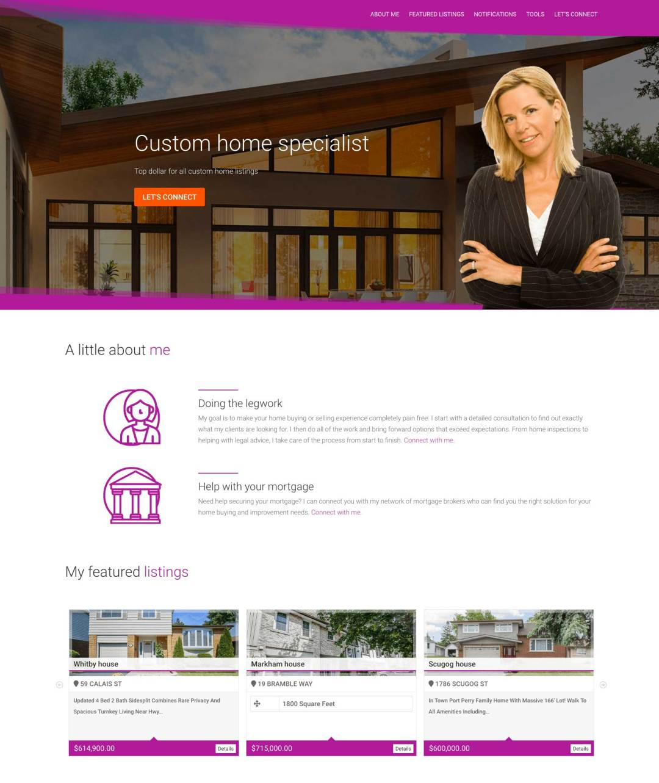 MEpage personal webpage