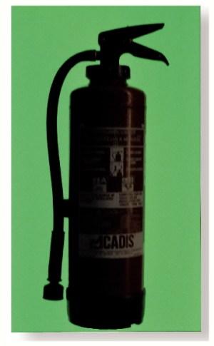 Plaque photoluminescente rigide pour marquage poignée, extincteur, plan... 700x300mm