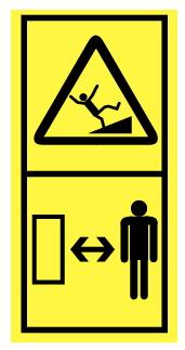 Danger de basculement