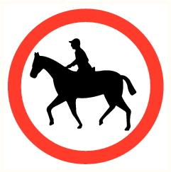 Cavalier interdit
