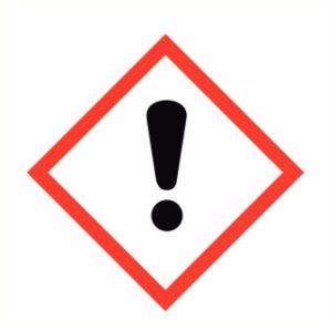 Danger pour la peau, des yeux ou les voies respiratoires