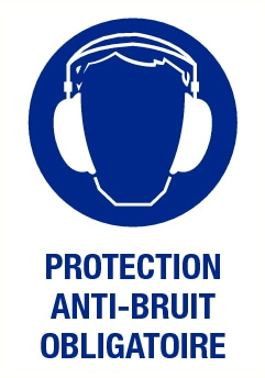 Protection anti-bruit obligatoire