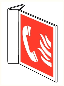 Drapeaux Téléphone d'urgence