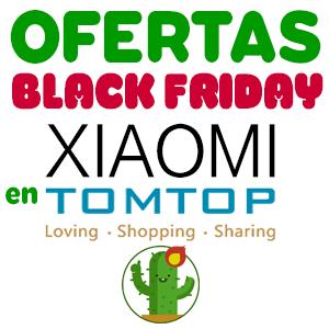 Todas las ofertas Black Friday de Xiaomi TomTop