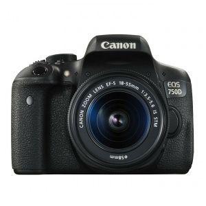 Canon EOS 750D con objetivo 18-55mm por 467,99€