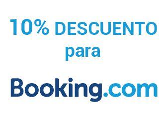 10% de crédito con nuestro link de Booking