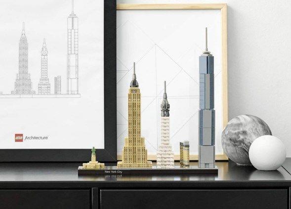 Comprar LEGO Arquitectura Ciudad de Nueva York barato