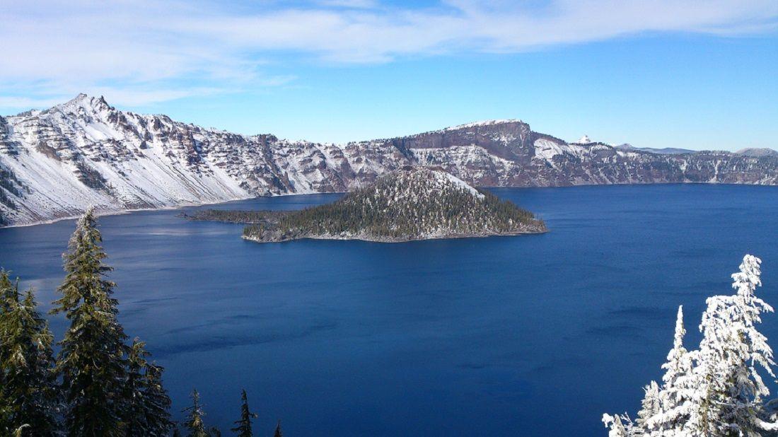 El lago del cráter